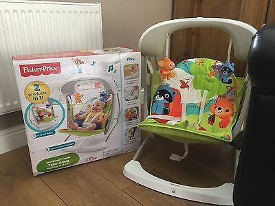 Fisher Price Take Along Swing Seat With Box In Excellent Condition