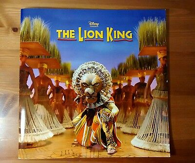 The Lion King West End and Touring production programme 2012