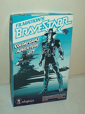 1986 Filmation's Bravestarr Colorforms adventure set NEW OLD STOCK hard to find