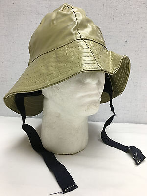 Canadian Military WWII Southwester Foul Weather Hat Surplus Size 7 #13493