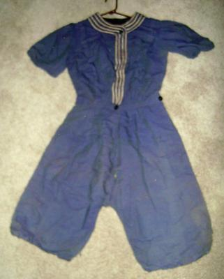 Women's 2 pc Antique Bathing Suit ca 1900's to 1910! Amazing Find! LOOK!