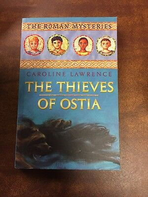 The Thieves of Ostia by Caroline Lawrence Paperback Book (English)