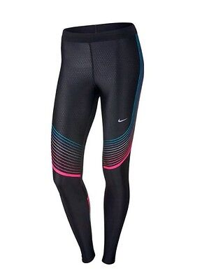Nike Power Speed Running Tights Womens  Large Dri-fit Compression