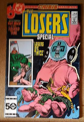 The Losers Special #1 (1985, DC) FN+