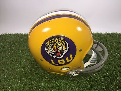 LSU Tigers Authentic Reproduction Throwback RK2 Helmet