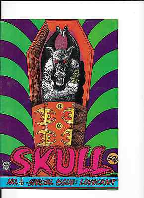 Skull Comics #4 Special Issue Lovecraft from Last Gasp Comix 1972,nm.