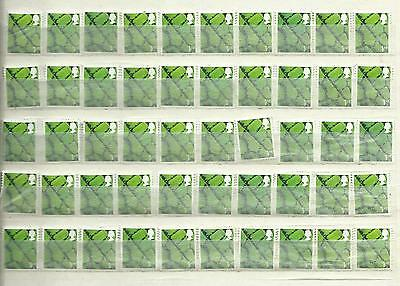 50 1st Class Unfranked Regional GB Stamps Off Paper