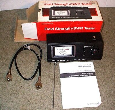 Micronta - Field Strength / Swr - Tester - Cat. No. 21-523