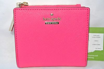 NWT NEW Kate Spade Cameron Street Adalyn Pink Confetti Leather, adorable