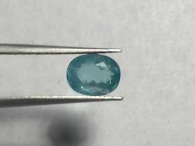 APATITE FACETED 1.65ct 6.17X7.91 US SELLER 100% NATURAL