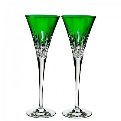 waterford wedgwood crystal Lismore Pop - Toasting Glasses