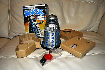 Dr Doctor Who 1970s Palitoy Tomy Talking DALEK boxed: SUPERB! WORKING! COMPLETE!