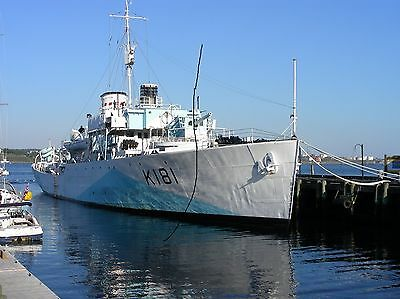 Ship/shipping Photo,canadian Navy Warship Photograph Picture Military Vessel..