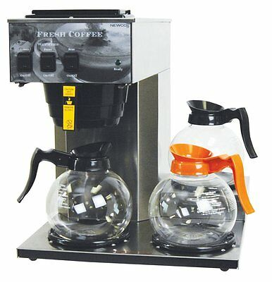 NEW Newco AK-3 Pourover Commercial 3 pot warmer Coffee maker Brewer
