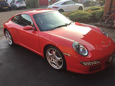 Porsche 911 Carrera S 997 model in stunning guards red