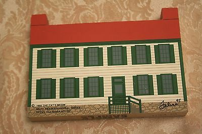 The Cats Meow Village 1995 Mark Twain's Hannibal Series Becky Thatcher House
