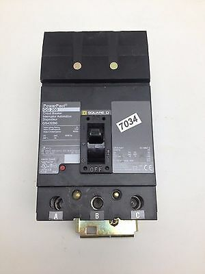 LIQUIDATION  Square D	Circuit Breaker	  200A	QGA32200  #7034