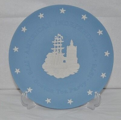 Beautiful Wedgwood, American Independence, Boston Tea Party, Decorative Plate