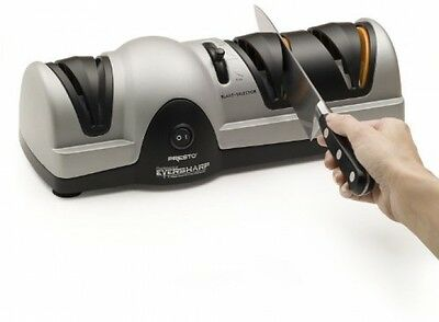 3 Stage Electric Knife Sharpener Professional Sharpening System Pro Chefs Choice