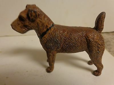 Vintage Germany Cast Metal dog Figurine German