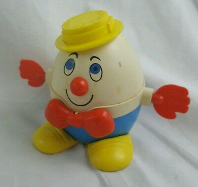 Vintage Humpty Dumpty Pull Toy  Fisher Price 736