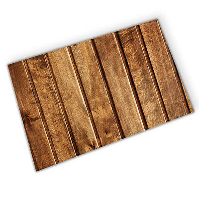 Wood Texture Theme Shower Room Mat Bathroom Cover Bath Rugs Decor 40x60cm