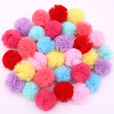Dog Hair Bows Lace Flower Style Rubber Bands Pet Dogs Hair Accessories Grooming