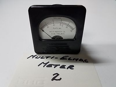Multi-Elmac A54 Multi-Products Plate Grid Current Meter, Tested & Works Fine #2