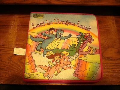 Dragon Tales Lost In Dragon Land felt book Softplay Interactive 18 pieces 2002