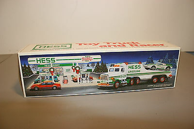 1991 Hess Truck and Racer In Original Box.