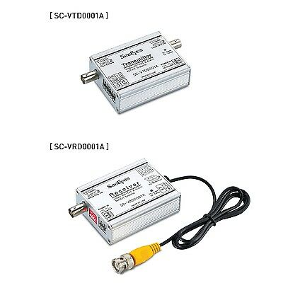 SeeEyes SC-VCD0001A    Video & Data Coaxial Transmission System