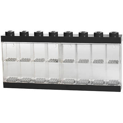 LEGO Minifigure Display Case 16 Black (Genuine LEGO Product) NEW
