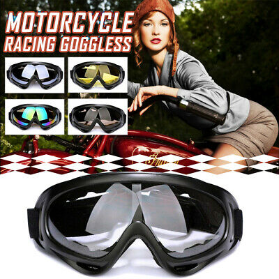 Motorcycle Motocross ATV Dirt Bike Off Road Adult Goggles Glasses Eyewear New