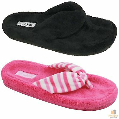 GROSBY Ladies Breeze Slippers Shoes Indoor Outdoor Casual Summer Slipper Thongs