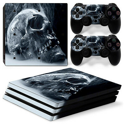 Game Protector Vinyl Decal Skin Sticker for PS4 Pro 2016 Console and Controllers