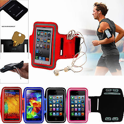Gym Running Jogging Arm Band Sports Armband Case Holder Strap For Various Phones