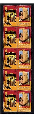 Layne Beachley 2002 Surf W/c Hall Of Fame Mint Stamps 1