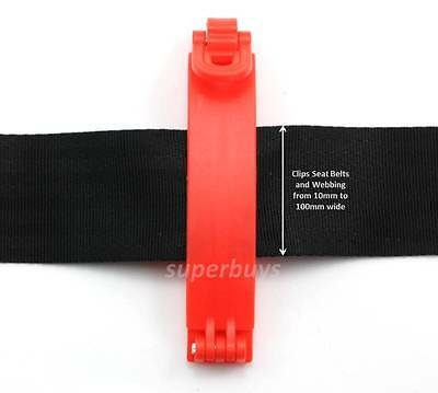 Seat Belt Auto Retract Stopper Clip Buckle – Stop Retraction When Needed Hold