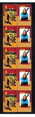 Layne Beachley 2006 Surf W/c Hall Of Fame Mint Stamps 1
