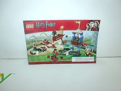 Instructions Only - LEGO Harry Potter - Quidditch Match - Set 4737 Book
