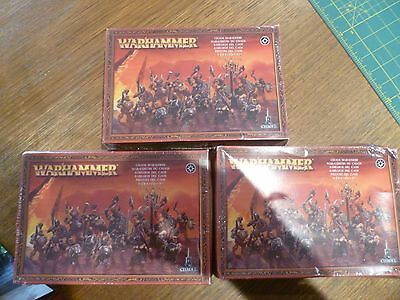 Warriors of Chaos army