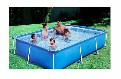 """Bestway Pool Family Ground Swim Swimming Square 102"""" Outdoor Playing Kids Spa"""