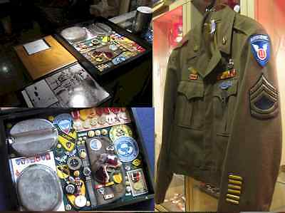 11th Airborne History WWii to Vietnam collection, cook stove to watches at cost?