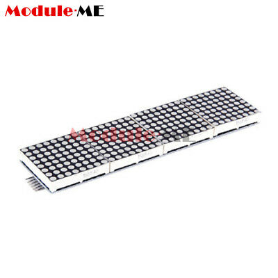 2.4-5.5V Lattice-Breakout LED Module-8X32 Red Dot-matrix Screen HT1632C UK