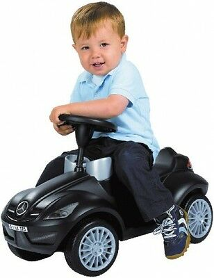 Ride In Cars for Toddlers Push Along Walker Toy Mercedes Sturdy Safe Black