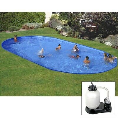 Piscina interrata In-ground Pool 600x320xh120cm Gre