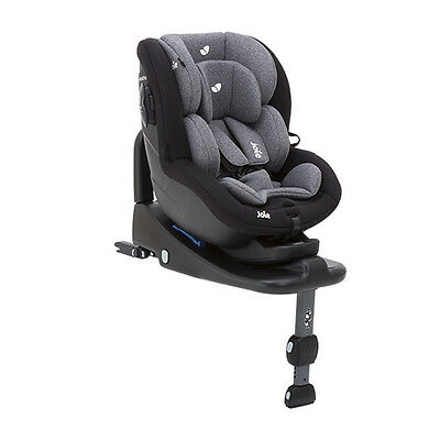 Joie i-Anchor Advanced i-Size Car Seat - Two Tone Black - NEW