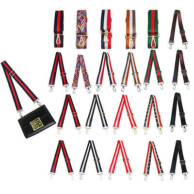 Women DIY Adjustable Bag Shoulder Strap CrossBody Canvas Replacement For Handbag