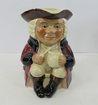 Tony Wood Staffordshire England Decorative Large Toby Jug With Certificate