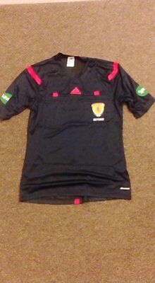 adidas SFA Referee Top Mens Medium (Navy)